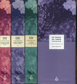 Em Busca Do Tempo Perdido - Marcel Proust Box 3 Livros