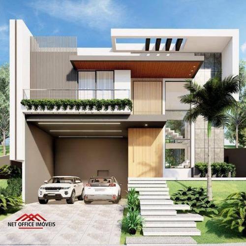 Imagem 1 de 1 de Casa Com 4 Dormitórios À Venda, 386 M² Por R$ 3.200.000,00 - Condomínio Residencial Alphaville Ii - São José Dos Campos/sp - Ca0563