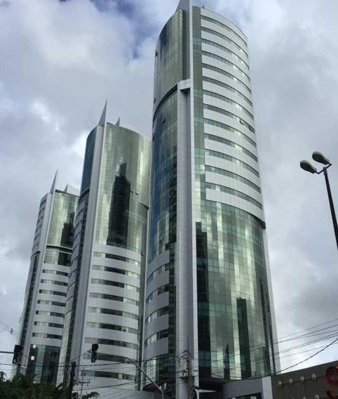 Sala Comercial Para Venda E Locação, Boa Viagem, Recife. - Sa0011