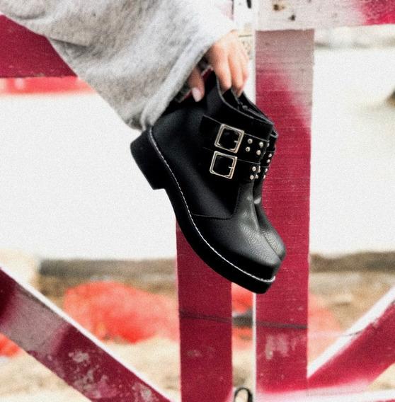 Bota Borcego Botita Zapato Mujer Octavia