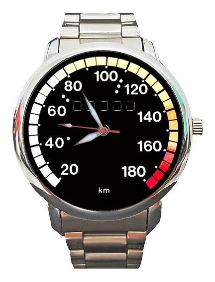 Kit 2 Peças - Relógio Personalizado Velocímetro Chevette 001