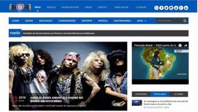 Script Novo Portal De Notícias Responsivo Php + Instalação