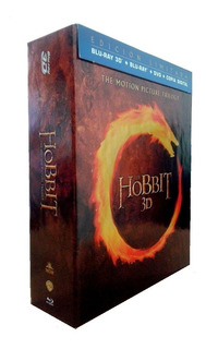 Trilogia El Hobbit Bluray 3d + Blu-ray + Dvd + Cd