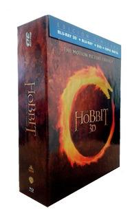 Trilogia El Hobbit Bluray 3d + Blu-ray + Dvd + Cd