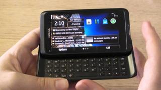 Nokia E7 Plegable Y Táctil De Colección Restaurado