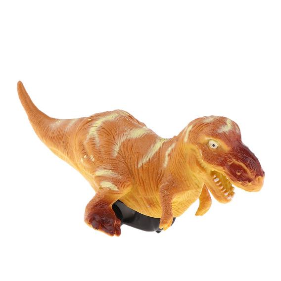 Modelo Dinossauro Simulação Sólido Puxe De Volta Veículo