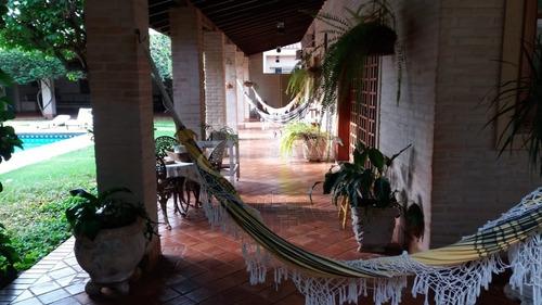 Excelente Casa Para Venda No Jardim Recreio Na Av. Candido Pereira Lima, 4 Dormitorios Sendo 2 Suites, Varanda Gourmet E Piscina Em 900 M2 Total - Ca01617 - 68987311