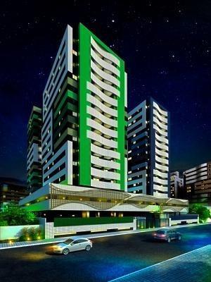 Imagem 1 de 30 de Edifício Good Life Blue Apartamento 1 Quarto Na Jatiúca Maceió - Ap0017