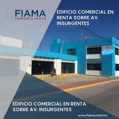 Imagen 1 de 5 de Edificio En Renta Sobre Av. Insurgentes, Tepic (m)