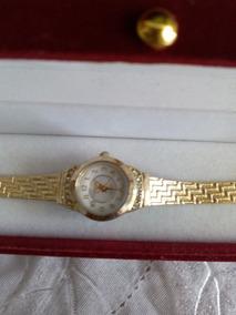 Relógio Fino Folheado A Ouro