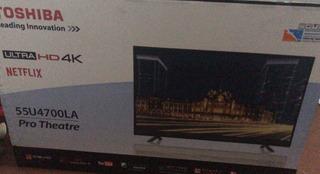 Tv Led Smart 4k 55 Toshiba