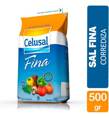 Sal Fina Celusal Paquete 500g Sin Tacc Libre Gluten