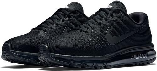 Tenis Hombre Nike Air Max 360 Triple Black Running Correr - $2,890.00