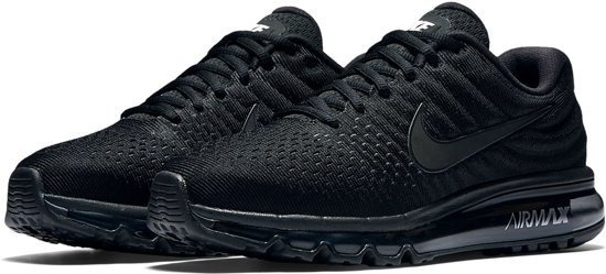Tenis Hombre Nike Air Max 360 Triple Black Running Correr