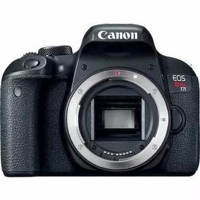 Câmera Profissional Canon Eos T7i (corpo) P/ Youtuber