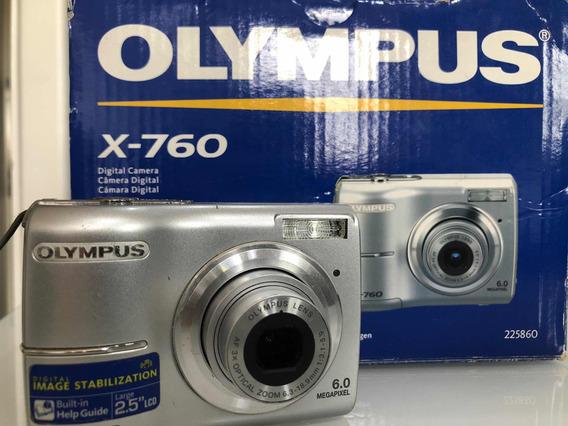 Câmera Olympus X-760 E Caregador
