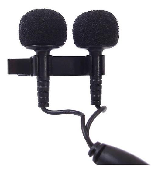 Microfone De Lapela Estéreo Yoga Em-6