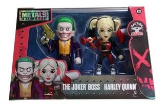 The Joker Boss Harley Quinn Figuras De Metal De Coleccion
