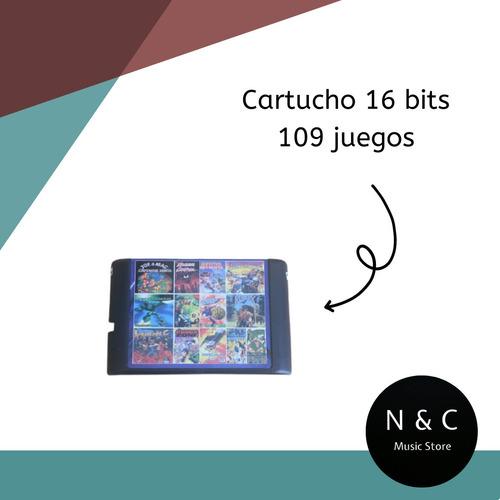 Cartucho Sega 109 Juegos Sin Repetir