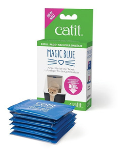 Filtro Reductor De Olores Repuesto Literas Magic Blue Catit