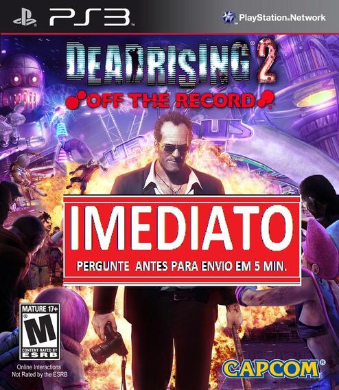 Dead Rising 2 Off The Record Ps3 Psn Midia Digital