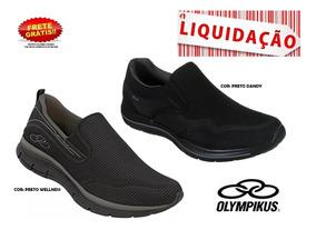 Tênis Olympikus Wellness Masculino - Dandy 37 Ao 44 Original