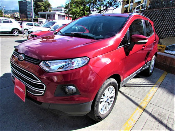 Ford New Ecosport Shift Sport Sec 2 Gasolina 4x2