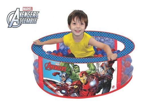 Imagem 1 de 2 de Piscina De Bolinha Os Vingadores Marvel Líder