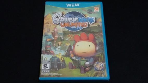 Scribble Nauts Unlimited Original Completo Nintendo Wii U