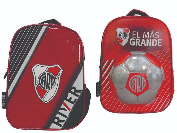 Mochila Espalda Jardín 12 River Plate - Giro Didáctico
