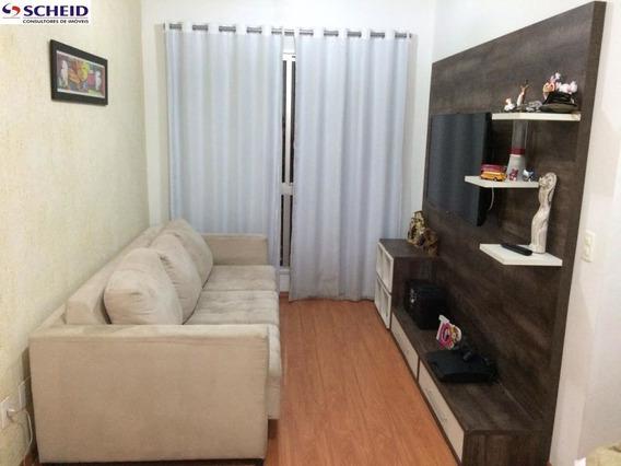 Apartamento Lindo Com Cozinha Americana E Armários Planejados Na Cozinha - Mr64414
