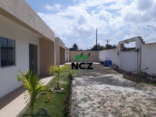 Casa Com 2 Dormitórios À Venda, 73 M² Por R$ 190.000,00 - Arembepe - Camaçari/ba - Ca3142