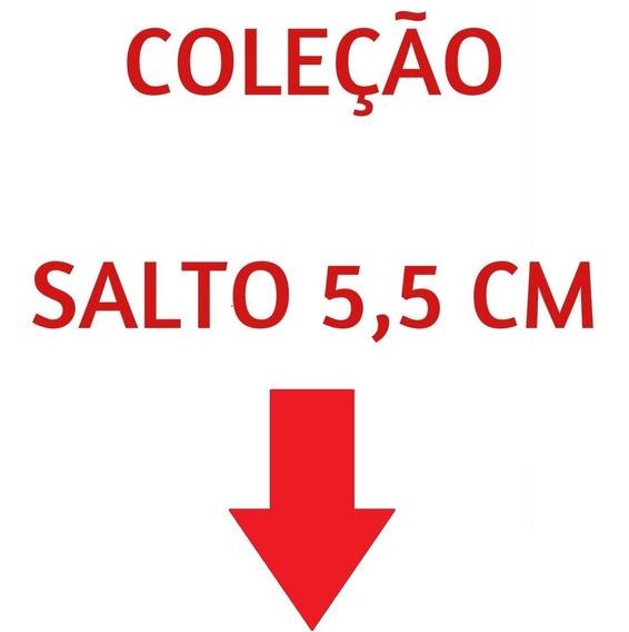 03 Pares Sandália Sapato Feminina Chiquiteira Chiqui/9819