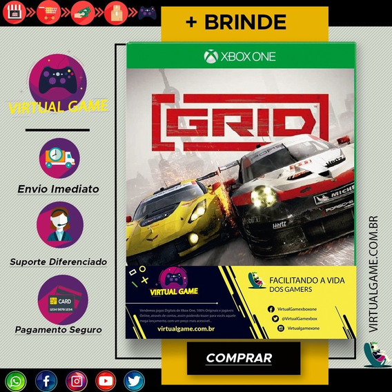 Grid - Jogo Xbox One - Midia Digital