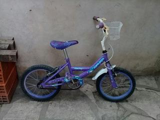 Bici Nena Rodado 16 Color Violeta Topmega