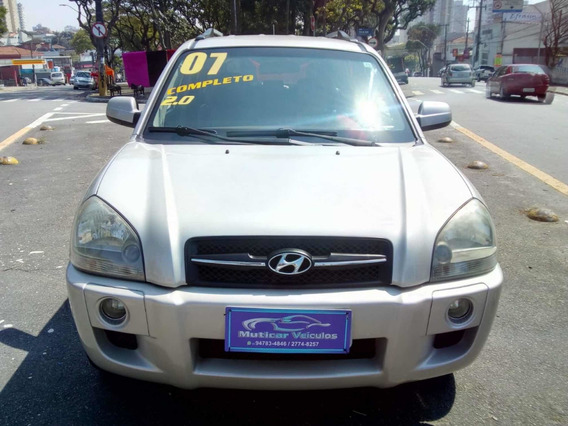 Hyundai Tucson Gl 2.0 Automatica 2007 S/ Entrada
