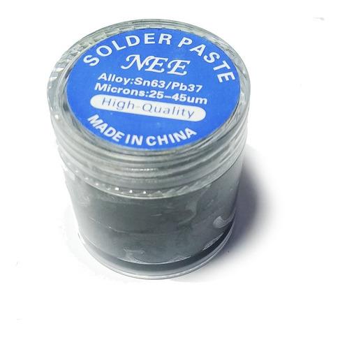 Estaño En Pasta Pote 50 Gramos Microsoldadura Reballing