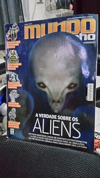 Revista - Mundo Estranho Número 111 - Verdade Sobre Aliens