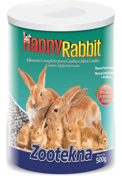 Happy Rabit - Ração Para Coelho - 500 G