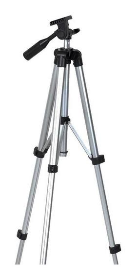 Tripé Aluminio 36070 Com 4 Estágios Binóculos Câmeras Fotos
