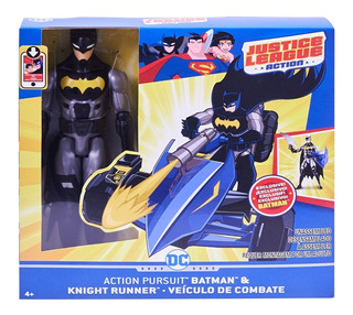 Batman + Knight Runner Dc Comics Justice League Mattel