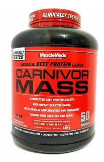 Proteina Musclemeds Carnivor Mass 6 Libras Chocolate Fundido