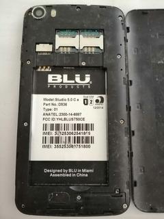 Blu Modelo:studio 5.0 C Epart No. :d536para Refacciones