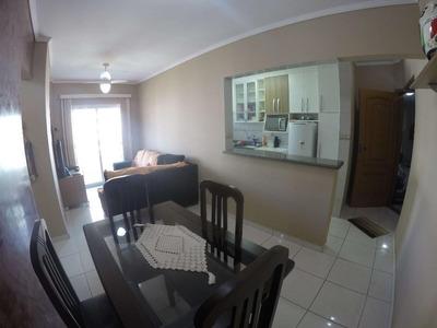 Apartamento Mobiliado 1 Dormitório Para Locação Definitiva, Próximo Da Praia No Campo Da Aviação Em Praia Grande. - Ap2627