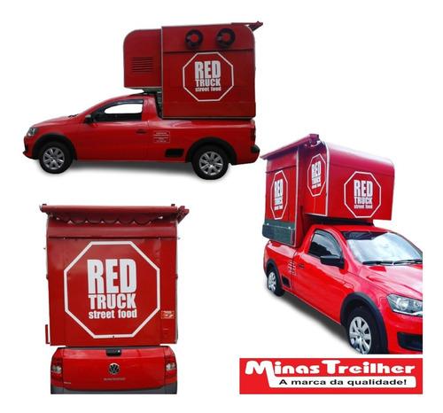 Food Truck Para Strada E Saveiro (sob Encomenda)