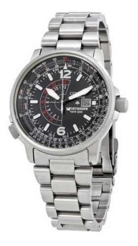 Citizen Masculino Bj7000-52e Nighthawk Eco-drive