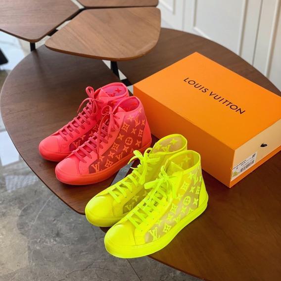 Tênis Louis Vuitton Sneaker Luxembourg - 002