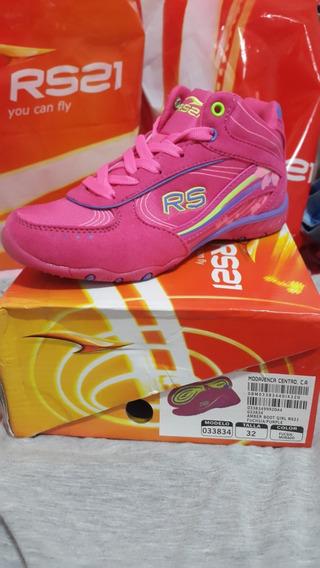 Zapatos Deportivos Rs21 Niñas Talla 32