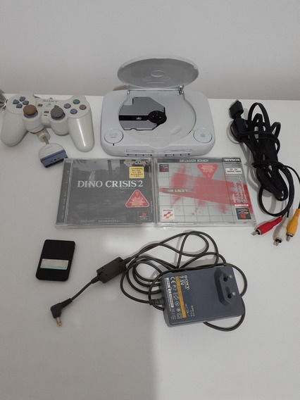 Playstation One Japonês. Com Jogos Lacrados.