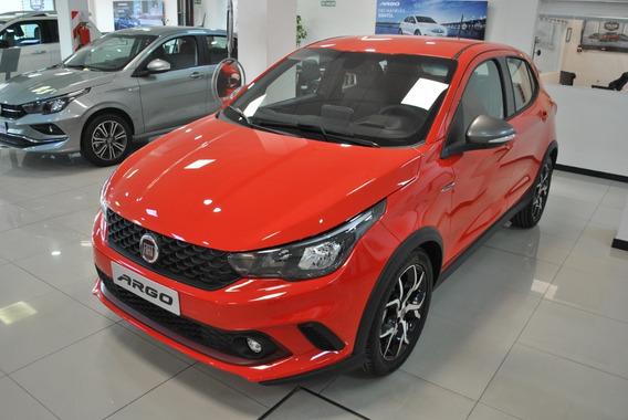 Fiat Argo Hgt Rojo 5 Puertas 2019 0 Km